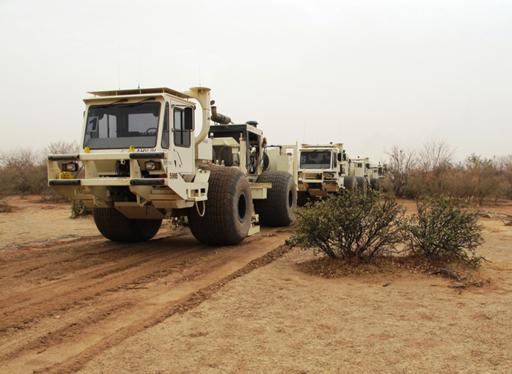 Mali Vibrator Truck